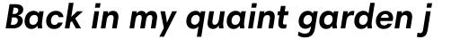 Harmonia Sans Pro Cyrillic Bold Italic sample