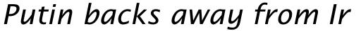 Lucida Schoolbook Std Italic sample