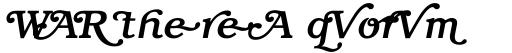 ITC Bookman Swash Medium Italic sample