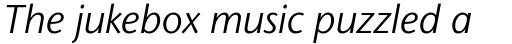 Stone Sans II Std Book Italic sample