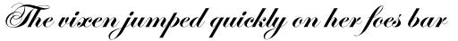 Edwardian Script Std Bold sample