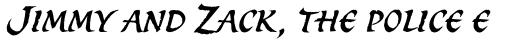 Spirit Std Italic sample