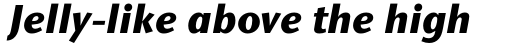 Stone Sans Std Bold Italic sample