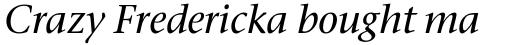 Stone Serif Std Medium Italic sample