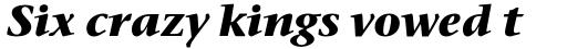 Stone Serif Std Bold Italic sample