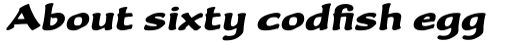 Becka Script Std sample