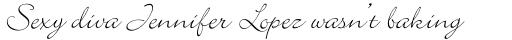 Bickley Script Std sample