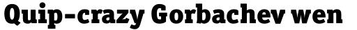 Officina Serif Pro Black sample