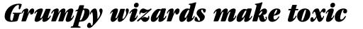 ITC Garamond Std Ultra Condensed Italic sample