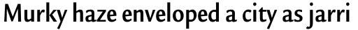Legacy Sans Pro Condensed Bold sample