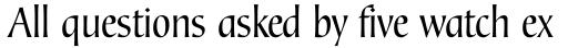 Corvallis Sans Std sample