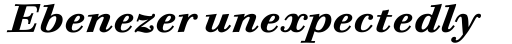 Bodoni Six OS Bold Italic sample