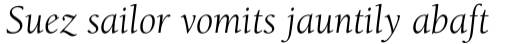 ITC Berkeley Old Style Pro Book Italic sample