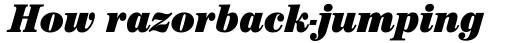 ITC Century Std Cond Ultra Italic sample