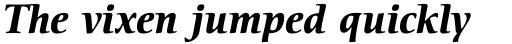 ITC Cerigo Std Bold Italic sample
