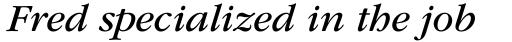 ITC Garamond Std Book Italic sample