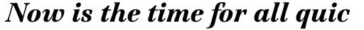 Jamille Std Black Italic sample