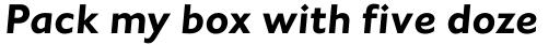 Johnston Std Bold Italic sample