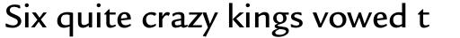 Legacy Sans Pro Medium sample