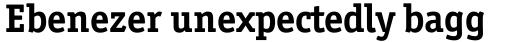 Officina Serif Std Bold sample