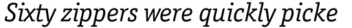 Officina Serif Std Book Italic sample