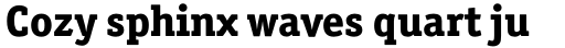 Officina Serif Std ExtraBold sample