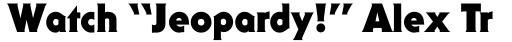 ITC Serif Gothic Std Black sample
