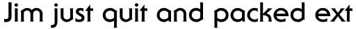 ITC Serif Gothic Std Bold sample