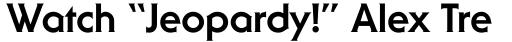 ITC Serif Gothic Std ExtraBold sample