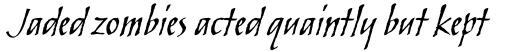 Skylark Std Italic sample
