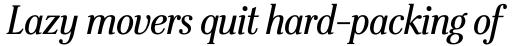 Stepp Std Bold Italic sample