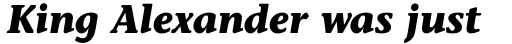 Stone Informal Std Bold Italic sample