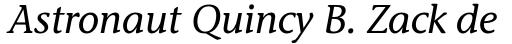 Stone Informal Std Italic sample