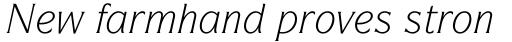 ITC Symbol Std Book Italic sample