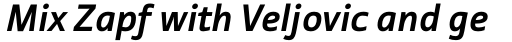 Tabula Pro Bold Italic sample