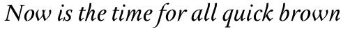 Tactile Std Italic sample