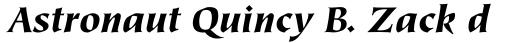 Tiepolo Std Black Italic sample