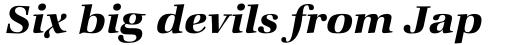 ITC Zapf Book Std Demi Italic sample