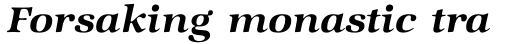 ITC Zapf International Std Demi Italic sample