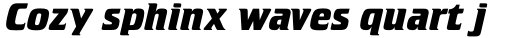 Crillee Std Bold Italic sample