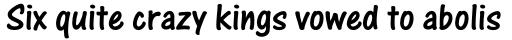 One Stroke Script Std sample