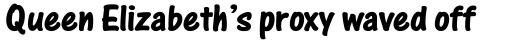 One Stroke Script Std Bold sample