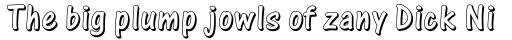 One Stroke Script Std Shaded sample
