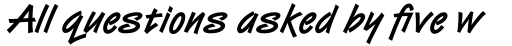 Van Dijk Std Bold sample