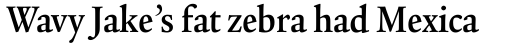 Legacy Serif Std Bold Condensed sample