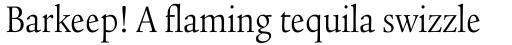Legacy Serif Std Book Condensed sample
