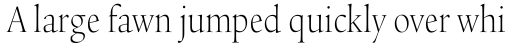 Legacy Serif Std ExtraLight Condensed sample
