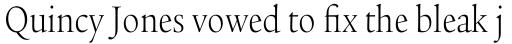 Legacy Serif Std Light Condensed sample