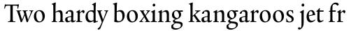 Legacy Serif Std Medium Condensed sample