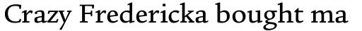 Legacy Square Serif Pro Medium sample